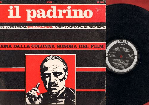 Blackinsell, John Orchestra - Il Padrino - Love Theme From The Godfather - Musica Composa Da Nino Rota - Tema Della Colonna Sonora Del Film (Vinyl STEREO LP record, Italian Pressing) - NM9/EX8 - LP Records