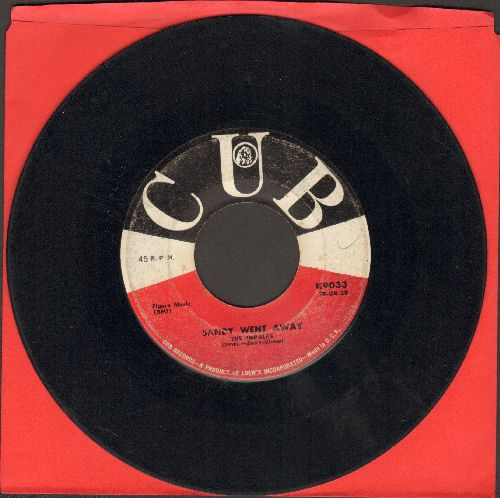 Impalas - Sandy Went Away/Oh, What A Fool  - VG6/ - 45 rpm Records