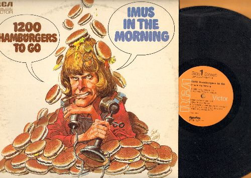 Imus, Don (Imus In The Morning) - 1200 Hamburgers To Go - The Best of the Radio Icon's Phone Pranks (vinyl STEREO LP record, 1972 first pressing) - NM9/EX8 - LP Records