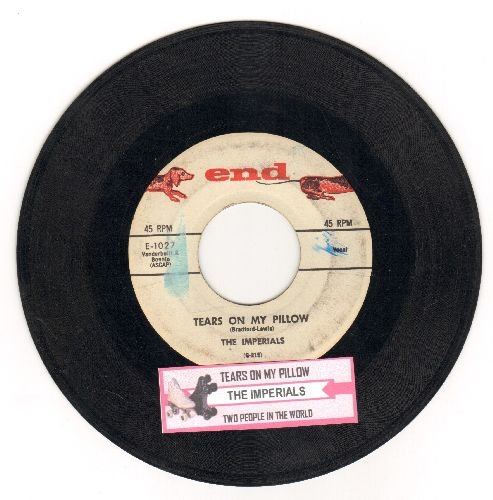 Imperials - Tears On My Pillow/Two People In The World (with juke box label) - VG7/ - 45 rpm Records