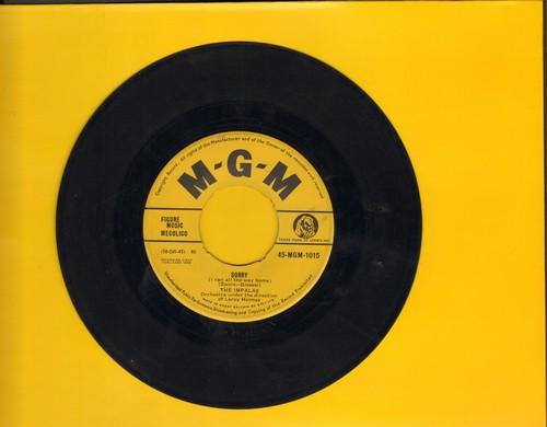 Impalas - Sorry (I Ran All The Way Home)/Fool, Fool, Fool (British Pressing) - EX8/ - 45 rpm Records