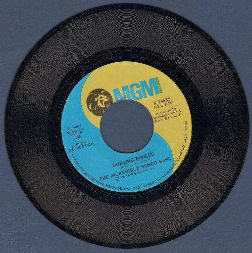 Incredible Bongo Band - Dueling Bongos/Let There Be Drums - EX8/ - 45 rpm Records
