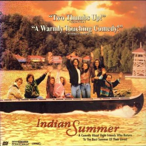 Indian Summer - Indian Summer - The Cult Classic Comedy about going back to Summer Camp - This is a LASERDISC, NOT ANY OTHER KIND OF MEDIA! - NM9/NM9 - LaserDiscs