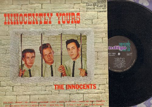 Innocents - Innocently Yours: Gee Whiz, Honest I Do, Donna, Walking Along, Once In A While, Please Mr. Sun, Chiquita, My Baby Hully Gullys, I Believe In You, Hog For You, It Was A Tear, Girl Of My Dreams (Vinyl MONO LP record, RARE first issue) - EX8/VG7