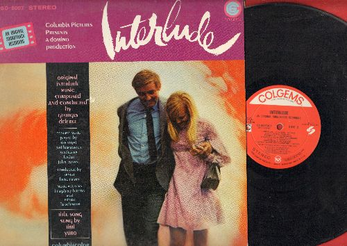 Interlude - Interlude - Original Motion Picture Soundtrack, includes title song by Timi Yuro (vinyl STEREO LP record) - VG7/EX8 - LP Records