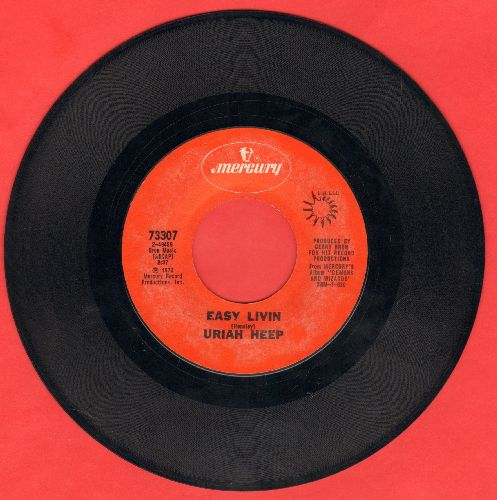 Uriah Heep - Easy Livin/All My Life  - NM9/ - 45 rpm Records