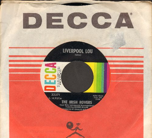 Irish Rovers - Liverpool Lou/The Biplane Ever More (with Decca company sleeve and juke box label) - NM9/ - 45 rpm Records