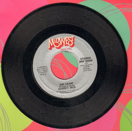Iris, Donnie - Ah! Leah!/Joking - NM9/ - 45 rpm Records