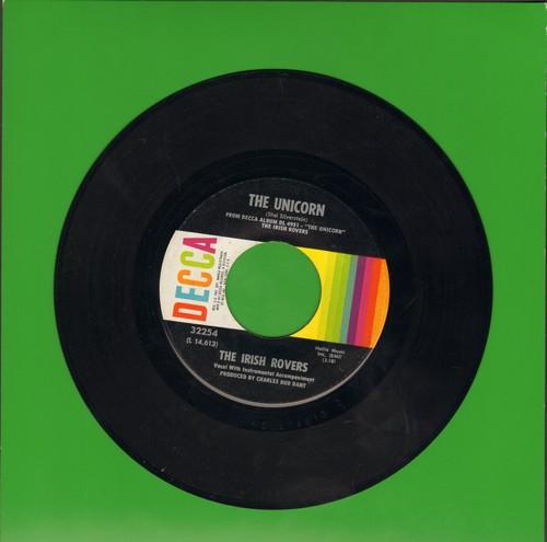 Irish Rovers - The Unicorn/Black Velvet Band  - EX8/ - 45 rpm Records