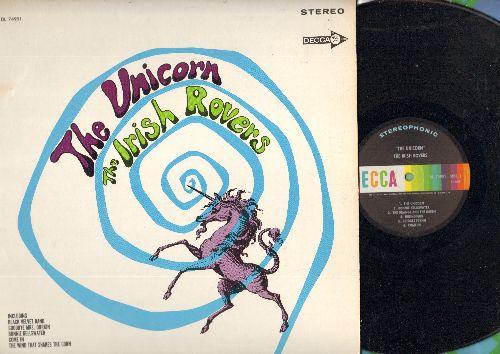 Irish Rovers - The Unicorn: Black Velvet Band, The Orange And The Green, Pat Of Mullingar (Vinyl STEREO LP record) - M10/EX8 - LP Records