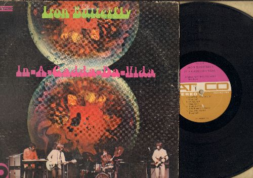 Iron Butterfly - In-A-Gadda-Da-Vida: Most Everything You Want, Flowers And Beads, My Mirage, Termination, Are You Happy (vinyl STEREO LP record, eartly pressing) - VG6/VG6 - LP Records