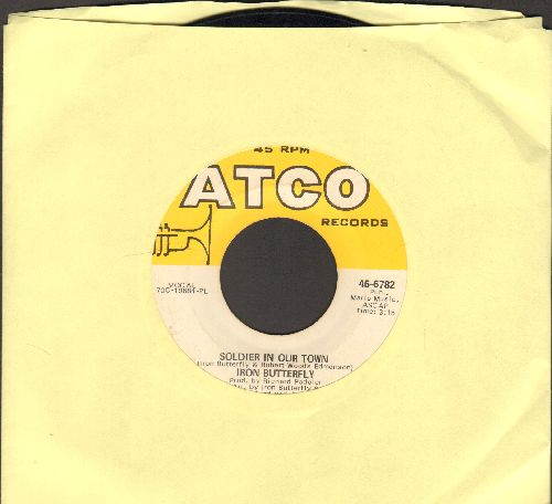 Iron Butterfly - Soldier In Our Town/Easy Rider (Let The Wind Pay The Way) - EX8/ - 45 rpm Records