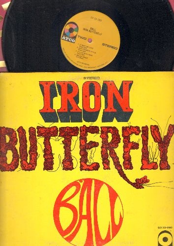 Iron Butterfly - Ball: In The Time Of Our Lives, Soul Experience, Belda-Beast, It Must Be Love, Her Favorite Style (Vinyl STEREO LP record, gate-fold cover) - EX8/EX8 - LP Records