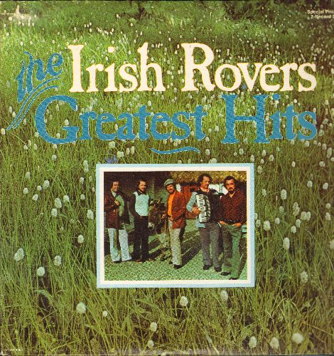 Irish Rovers - Greatest Hits: The Unicorn, Lily The Pink, Goodnight Irene, Liverpool Lou, Whiskey On Sunday (2 vinyl LP records, gate-fold cover) - NM9/NM9 - LP Records
