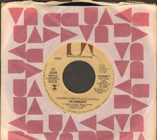 Oskar, Lee - The Immigrant/BLT (with UA company sleeve) - NM9/ - 45 rpm Records