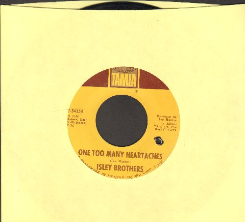 Isley Brothers - One Too Many Heartaches/That's The Way Love Is (bb) - EX8/ - 45 rpm Records