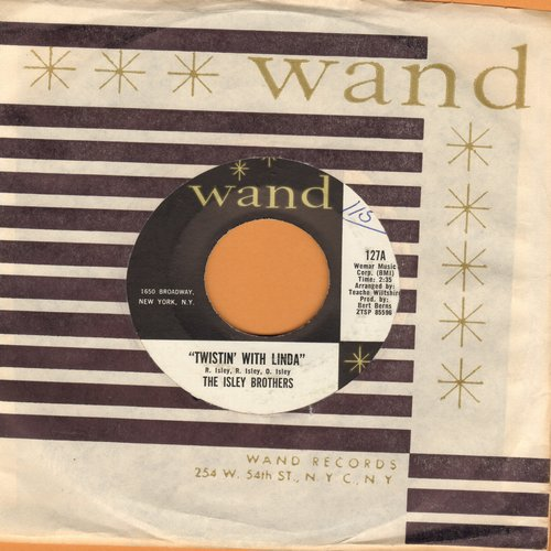 Isley Brothers - Twistin' With Linda/You Better Come Home (with RARE Wand company sleeve) (minor wol) - NM9/ - 45 rpm Records