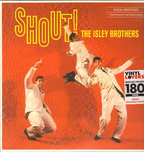 Isley Brothers - Shout!: How Deep Is The Ocean, Respectable, Rock Around The Clock (180 gram Virgin Vinyl E.U. re-issue of vintage recordings, SEALED, never opened!) - SEALED/SEALED - LP Records