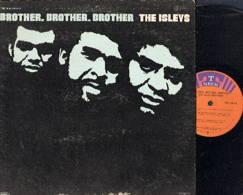 Isley Brothers - Brother, Brother, Brother: Put A Little Love In Your Heart, It's Too LatePop That Thang (vinyl STEREO LP record, DJ advance pressing) - NM9/VG6 - LP Records