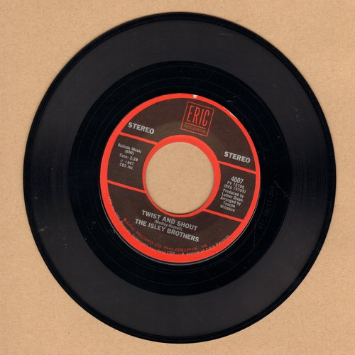 Isley Brothers - Twist And Shout/Louie, Louie (by the Kingsme on flip-side) (re-issue) - EX8/ - 45 rpm Records