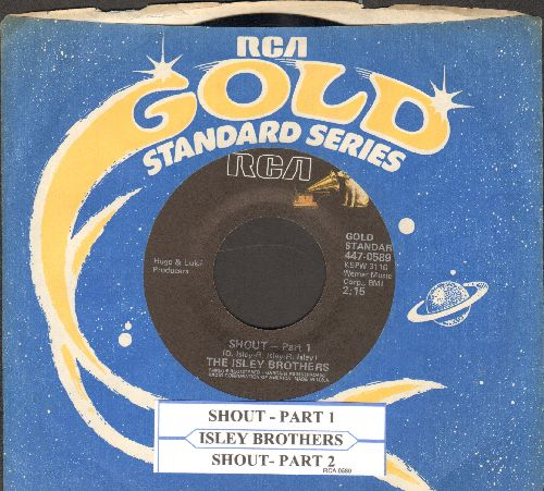 Isley Brothers - Shout (Part 1)/Shout (Part 2) (reissue with juke box label and company sleeve) - EX8/ - 45 rpm Records