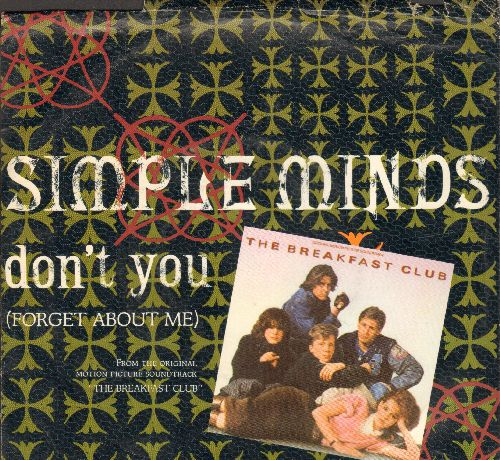Simple Minds - Don't You (Forget About Me) LIVE/All The Things She Said (with picture sleeve) - NM9/EX8 - 45 rpm Records