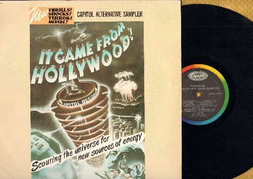 Sounds Of Soweto, Flesh For Lulu, Skinny Puppy, others - Capitol Alternative Sampler - It Came From Hollywood: Gorilla Man, Siamese Twist, White Coats, Addiction, Sourpuss (Vinyl LP record, RARE PROMO Pressing) - NM9/EX8 - LP Records