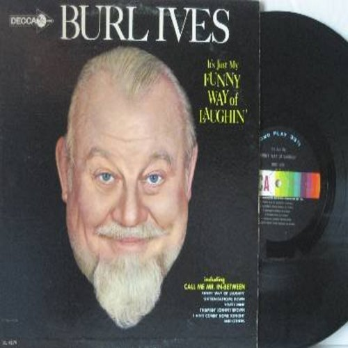 Ives, Burl - It's Just My Funny Way Of Laughin': Brooklyn Bridge, In Foggy Old London, Poor Little Jimmie (Vinyl MONO LP record) - NM9/NM9 - LP Records