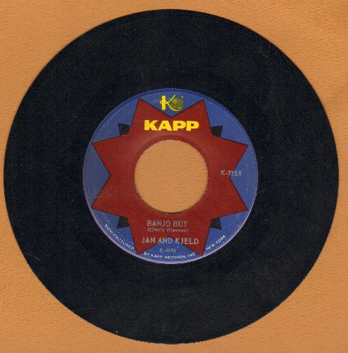 Jan & Kjeld - Banjo Boy (German)/Don't Raise A Storm (Mach doch nicht immer so viel Wind) (US Pressing, sung in German) - VG7/ - 45 rpm Records