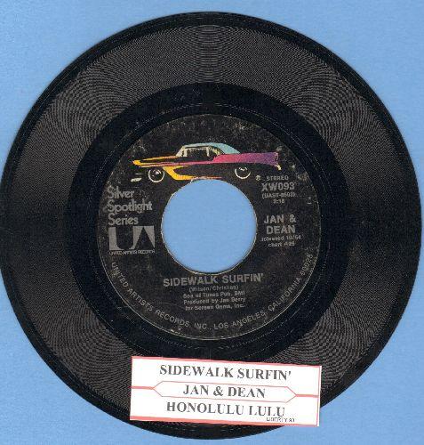 Jan & Dean - Sidewalk Surfing/Honolulu Lulu (double-hit re-issue with juke box label) - EX8/ - 45 rpm Records