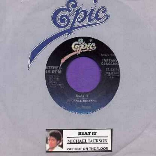 Jackson, Michael - Beat It/Get On The Floor (with juke box label) - NM9/ - 45 rpm Records