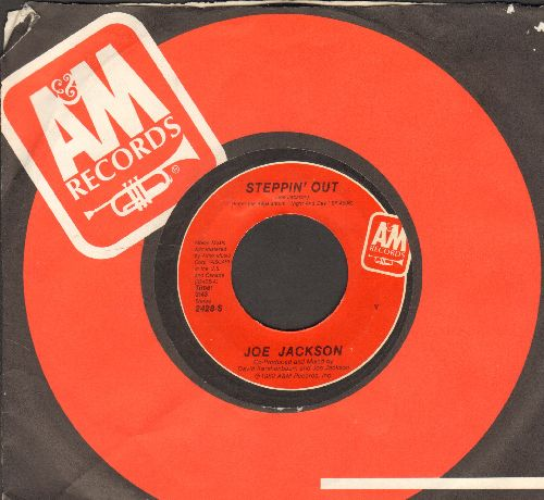 Jackson, Joe - Steppin' Out/Chinatown (with company sleeve) - EX8/ - 45 rpm Records