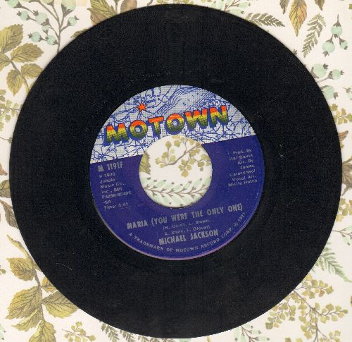 Jackson, Michael - Maria (You Were The Only One)/Got To Be There  - EX8/ - 45 rpm Records