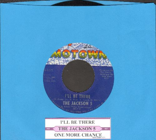 Jackson 5 - I'll Be There/One More Chance (with juke box label) - NM9/ - 45 rpm Records