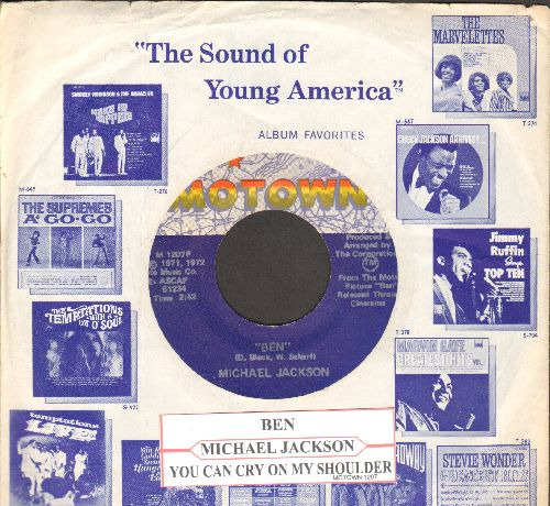 Jackson, Michael - Ben/You Can Cry On My Shoulder - NM9/ - 45 rpm Records