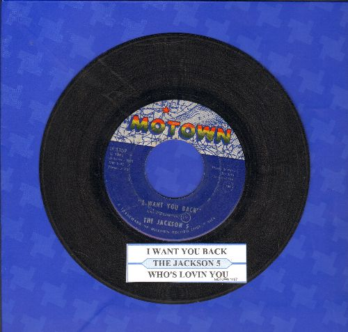 Jackson 5 - I Want You Back/Who's Lovin You (with juke box label) - VG7/ - 45 rpm Records