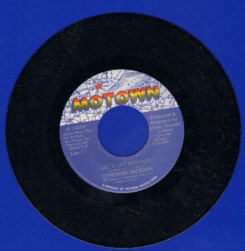 Jackson, Jermaine - Let's Get Serious/Je Vous Aime Beaucoup (I Love You)(MINT condition!) - VG7/ - 45 rpm Records