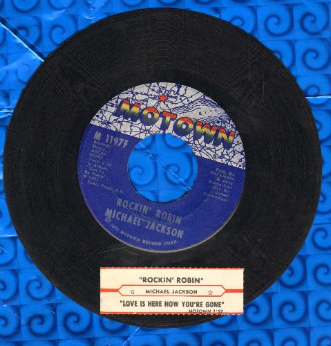 Jackson, Michael - Rockin' Robin/Love Is Here And Now You're Gone - EX8/ - 45 rpm Records