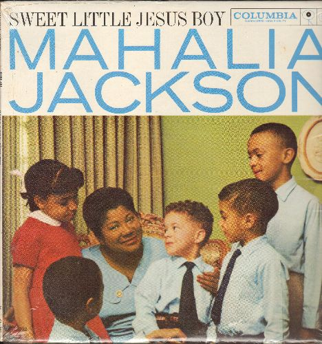 Jackson, Mahalia - Sweet Little Jesus Boy: Joy To The World, White Christmas, O Come All Ye Faithful, Silent Night (vinyl MONO LP record, SEALED, never opened!) - SEALED/SEALED - LP Records