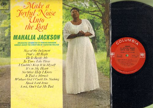 Jackson, Mahalia - Make A Joyful Noise Unto The Lord: It Took A Miracle, Sign Of The Judgement, It's In My Heart (vinyl MONO LP record) - NM9/EX8 - LP Records