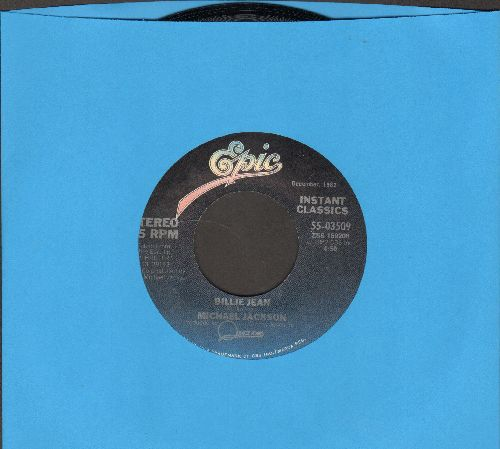 Jackson, Michael - Billie Jean/Can't Get Outta The Rain (Instant Classic Pressing) - NM9/ - 45 rpm Records