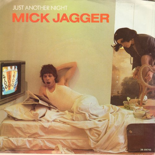 Jagger, Mick - Just Another Night/Turn The Girl Loose (with picture sleeve) - NM9/EX8 - 45 rpm Records