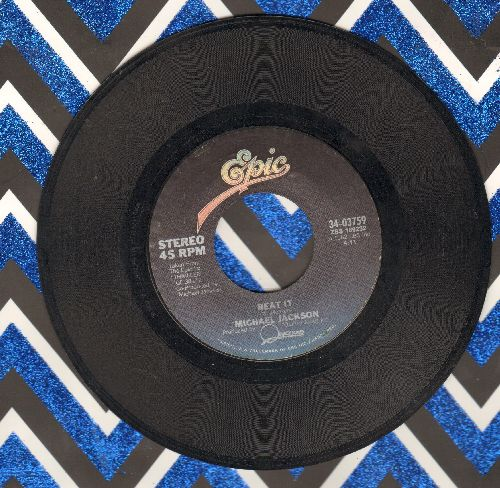 Jackson, Michael - Beat It/Get On The Floor - VG7/ - 45 rpm Records