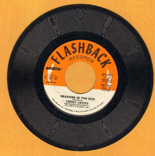 Jacks, Terry - Seasons In The Sun/If You Go Away (double-hit re-issue) - EX8/ - 45 rpm Records