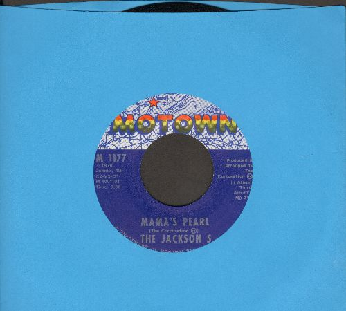 Jackson 5 - Mama's Pearl/Darling Dear  - VG7/ - 45 rpm Records