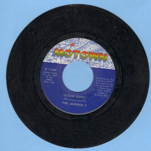 Jackson 5 - Sugar Daddy/I'm So Happy - NM9/ - 45 rpm Records