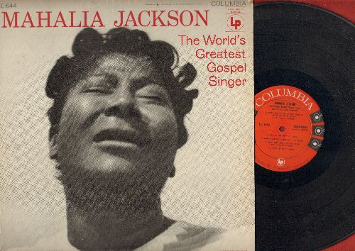 Jackson, Mahalia - The World's Greatest Gospel Singer: When The Saints Go Marching In, Keep Your hand On The Plow, When I Wake Up In Glory (vinyl MONO LP record) - EX8/EX8 - LP Records