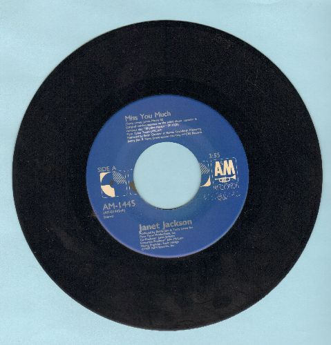 Jackson, Janet - Miss You Much/You Need Me - EX8/ - 45 rpm Records
