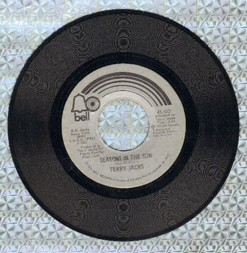 Jacks, Terry - Seasons In The Sun (We Had Joy, We Had Fun)/Put The Bone In  - VG6/ - 45 rpm Records