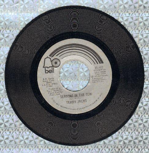 Jacks, Terry - Seasons In The Sun (We Had Joy, We Had Fun)/Put The Bone In  - VG6/ - 45 rpm Records